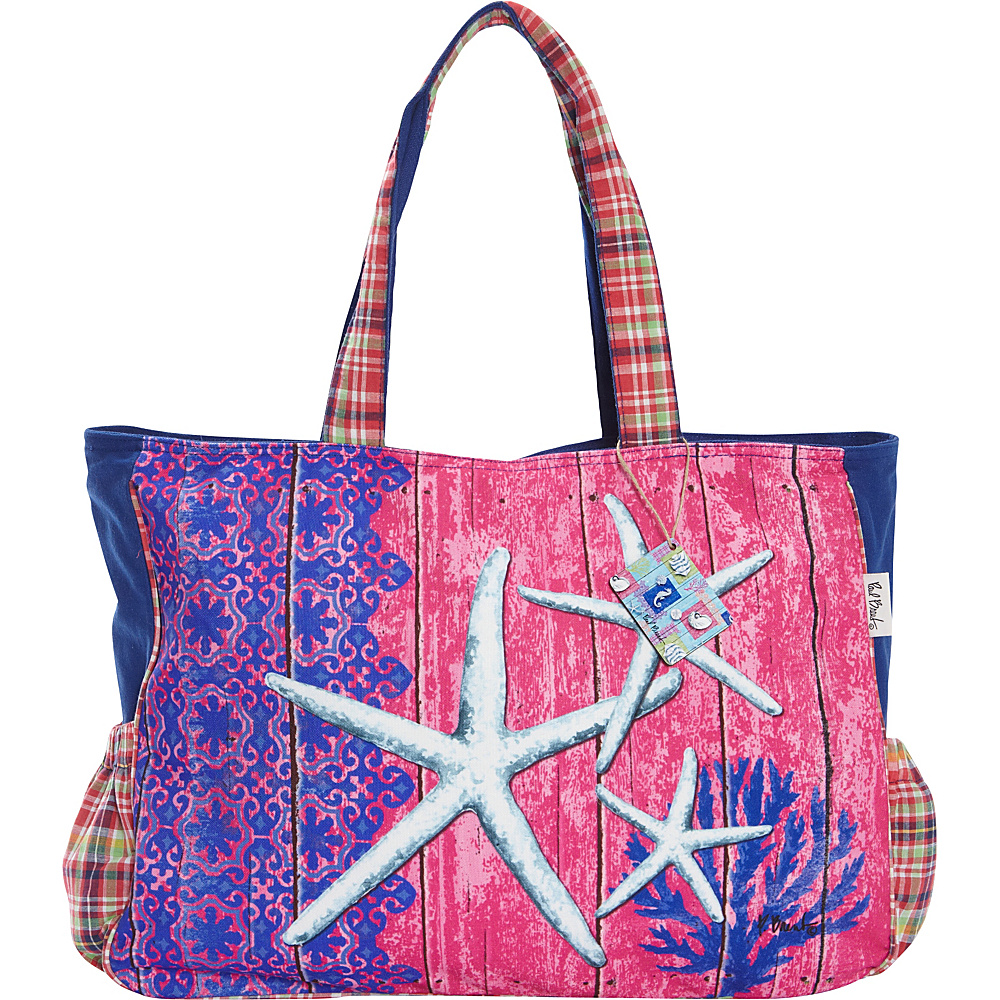 Sun N Sand Aquatic Tote Multi - Sun N Sand Fabric Handbags - Handbags, Fabric Handbags