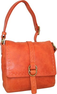 Nino Bossi My Sharona Crossbody Orange - Nino Bossi Leather Handbags