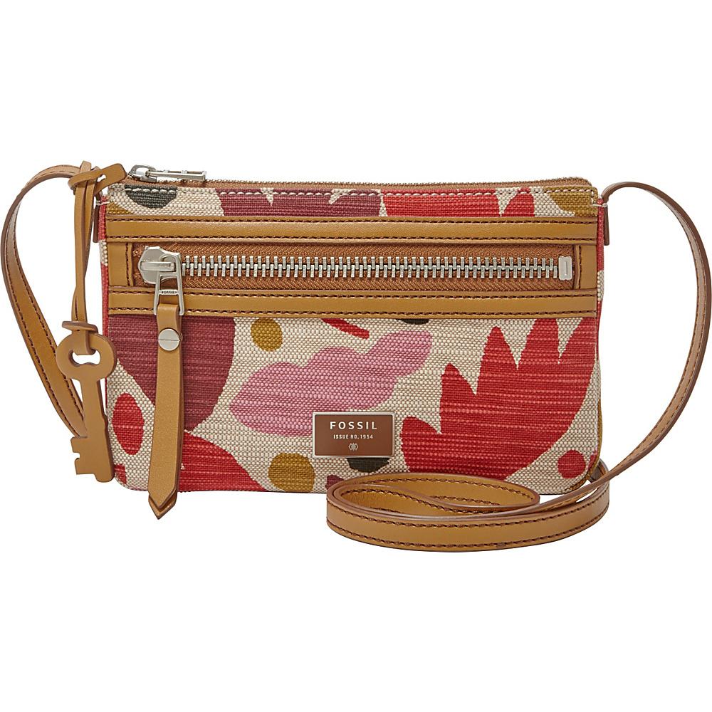 bbc52db5db $78.00 More Details · Fossil Dawson Mini Crossbody Pink Floral - Fossil  Fabric Handbags