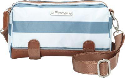 Po Campo Kinga Crossbody Bag Sky Stripes Coated Poly - Po Campo Other Sports Bags