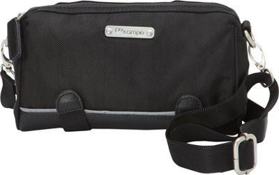 Po Campo Kinga Crossbody Bag Black Herringbone - Po Campo Other Sports Bags