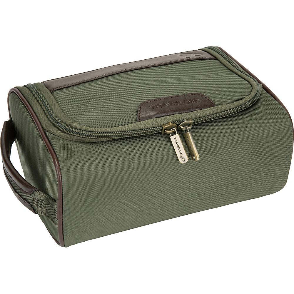 Travelon Classic Plus Hanging Toiletry Kit Olive- Exclusive Color - Travelon Toiletry Kits - Travel Accessories, Toiletry Kits