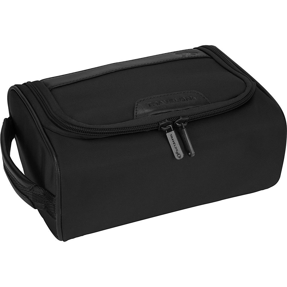 Travelon Classic Plus Hanging Toiletry Kit Black - Travelon Toiletry Kits - Travel Accessories, Toiletry Kits