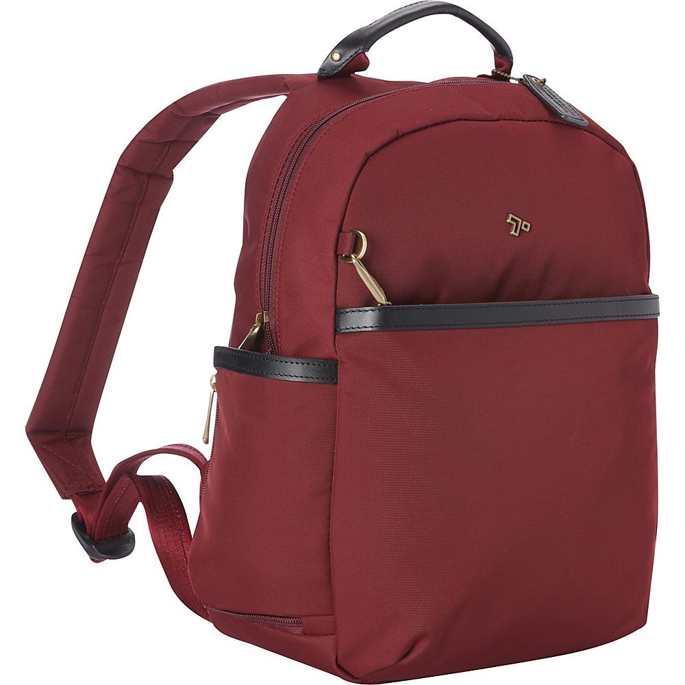 Travelon Anti-Theft LTD Backpack Wine - Travelon Everyday Backpacks