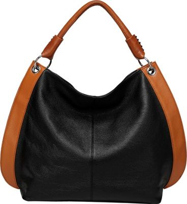 Vicenzo Leather Camelia Leather Tote Black - Vicenzo Leather Leather Handbags