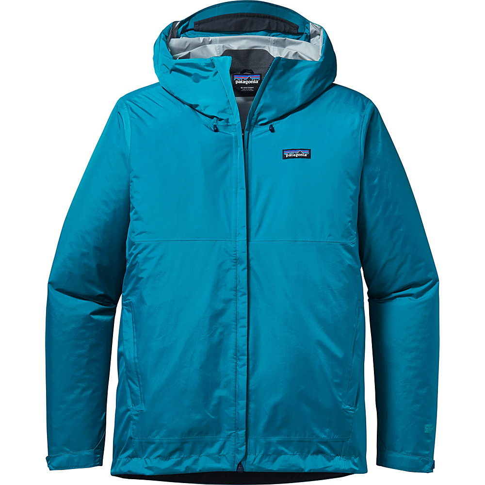 Patagonia Mens Torrentshell Jacket 2XL - Grecian Blue - Patagonia Mens Apparel - Apparel & Footwear, Men's Apparel
