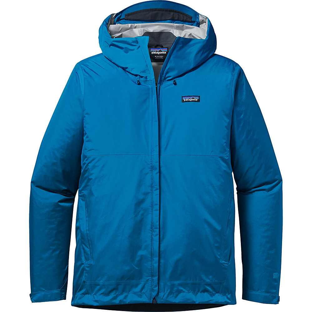 Patagonia Mens Torrentshell Jacket L - Andes Blue - Patagonia Mens Apparel - Apparel & Footwear, Men's Apparel