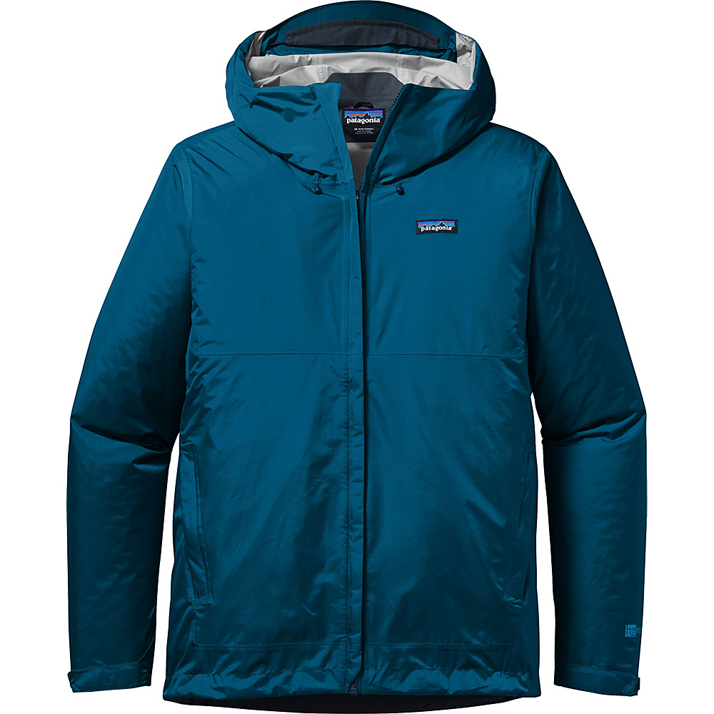 Patagonia Mens Torrentshell Jacket M - Big Sur Blue - Patagonia Mens Apparel - Apparel & Footwear, Men's Apparel
