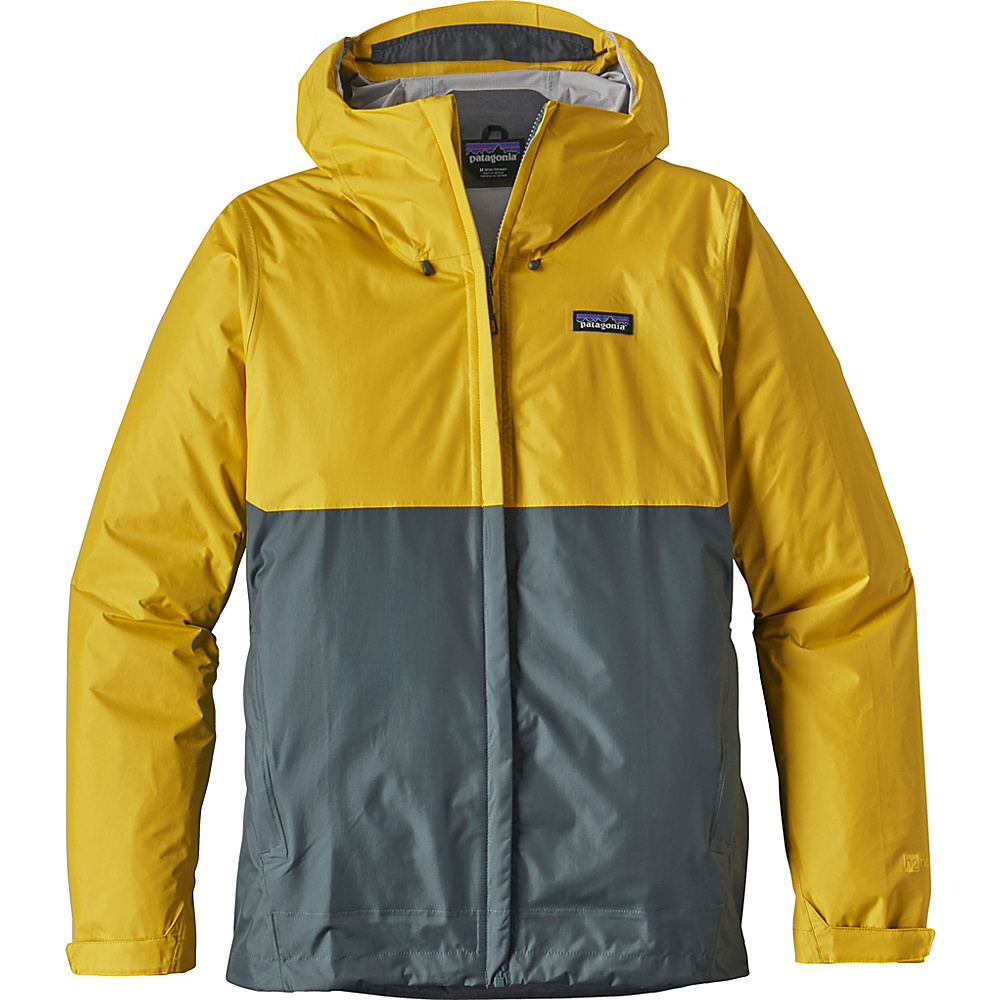 Patagonia Mens Torrentshell Jacket L - Chromatic Yellow - Patagonia Mens Apparel - Apparel & Footwear, Men's Apparel