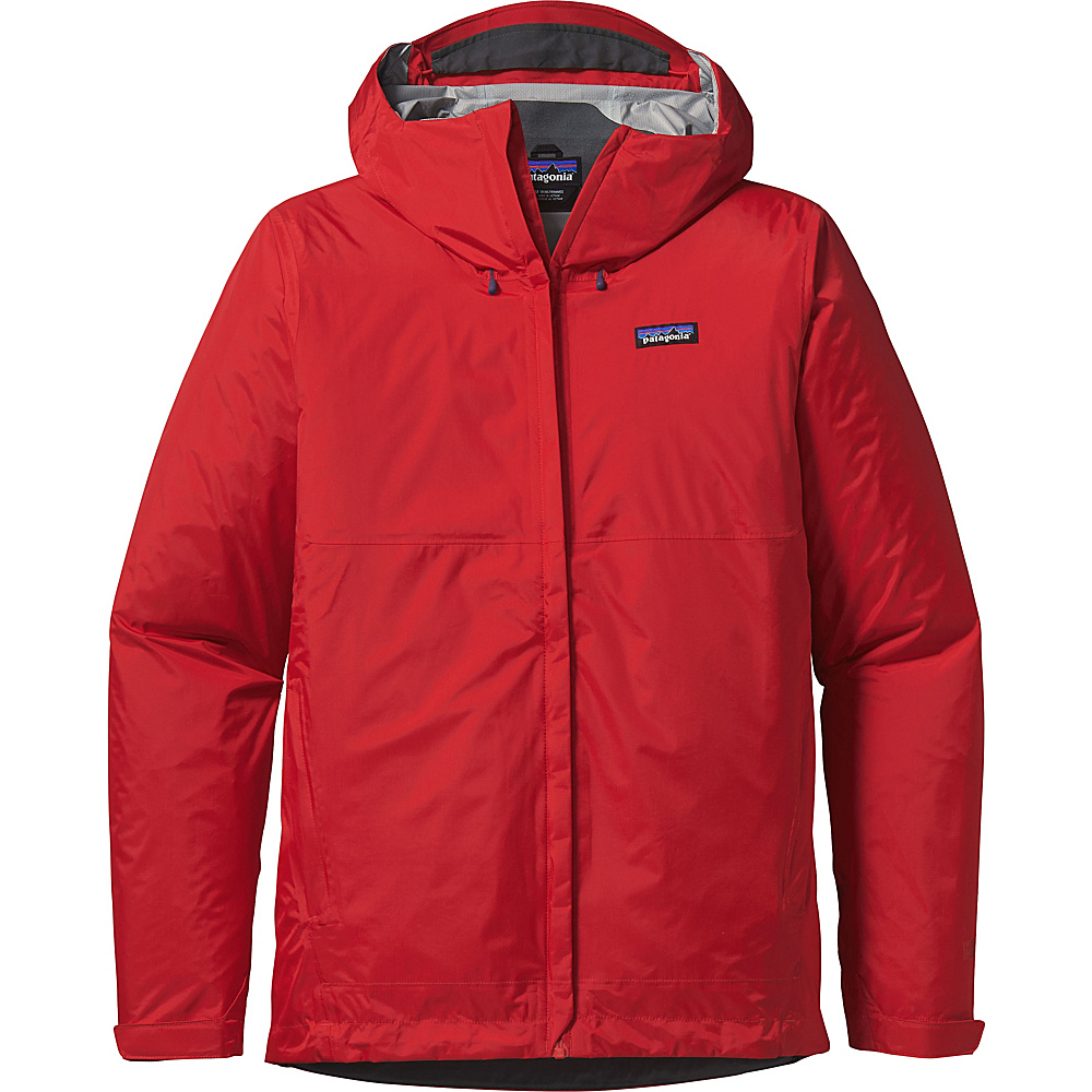 Patagonia Mens Torrentshell Jacket L - Fire - Patagonia Mens Apparel - Apparel & Footwear, Men's Apparel