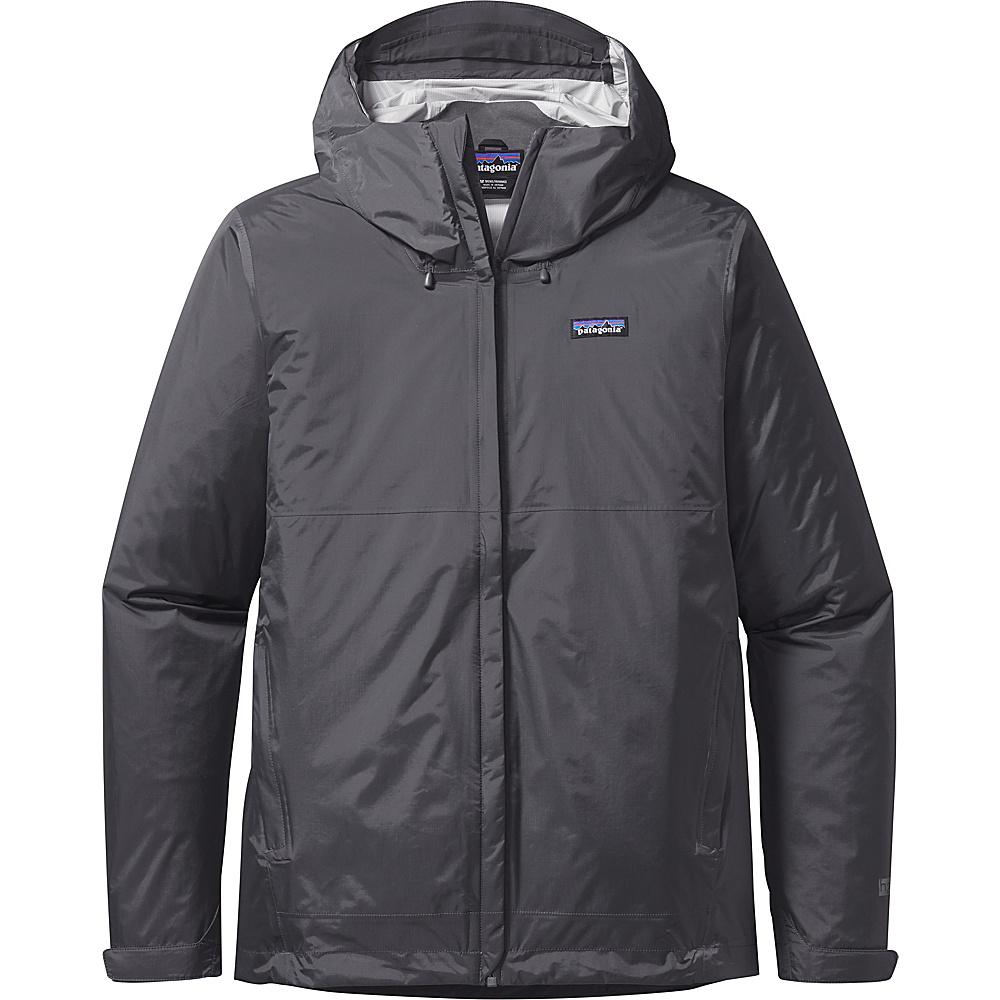 Patagonia Mens Torrentshell Jacket L - Forge Grey - Patagonia Mens Apparel - Apparel & Footwear, Men's Apparel