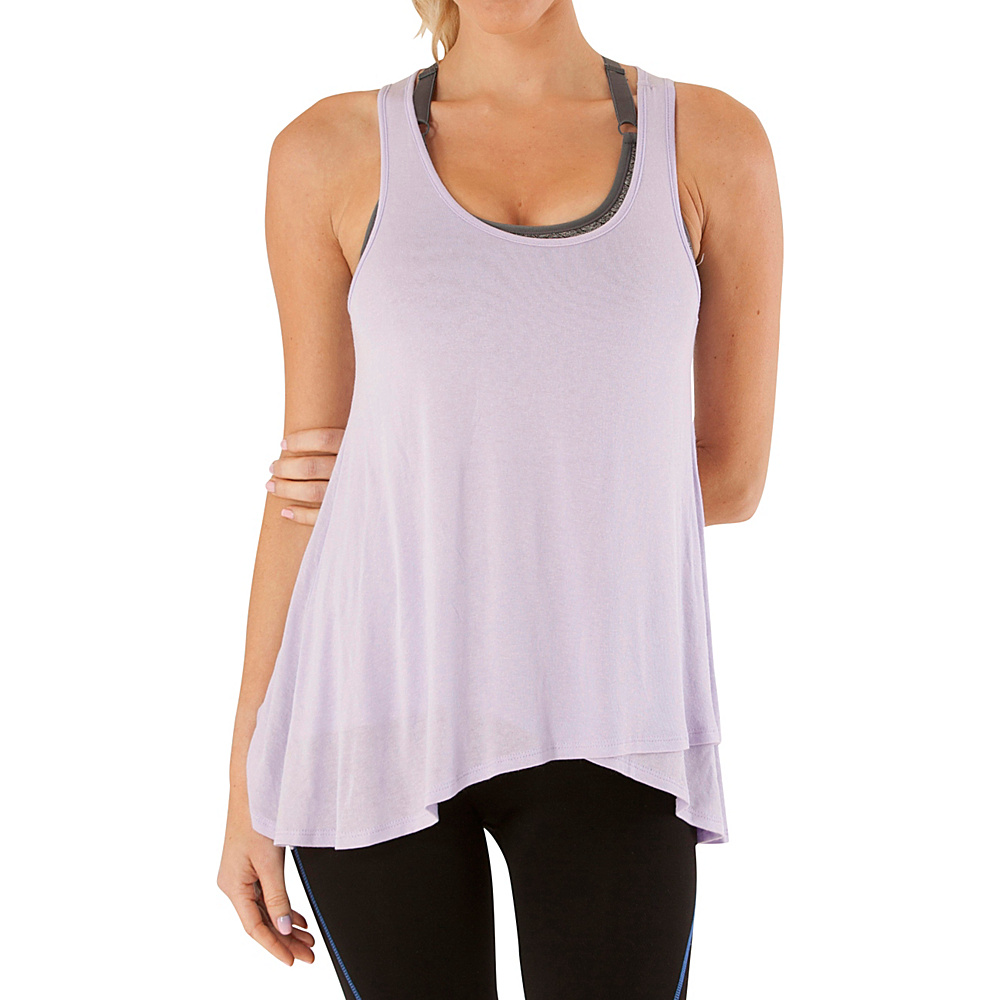 Electric Yoga Loose Tank Top L Lilac Electric Yoga Women s Apparel