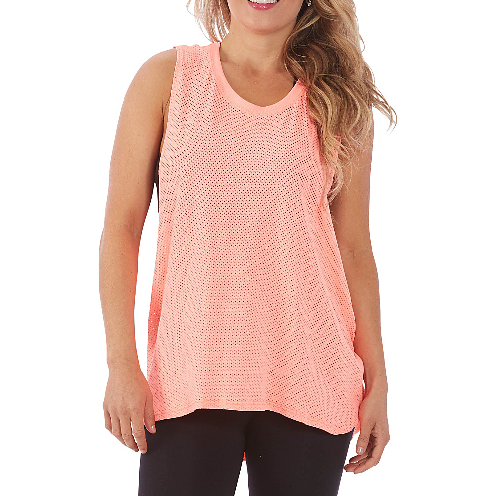 Electric Yoga Tribal Loose Top XS S Coral XS S Electric Yoga Women s Apparel