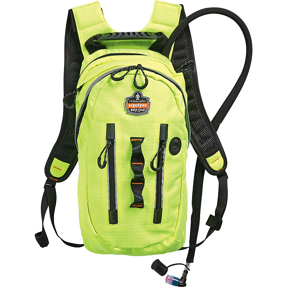 Ergodyne 5157 Premium Cargo Hydration Pack Lime Ergodyne Hydration Packs and Bottles