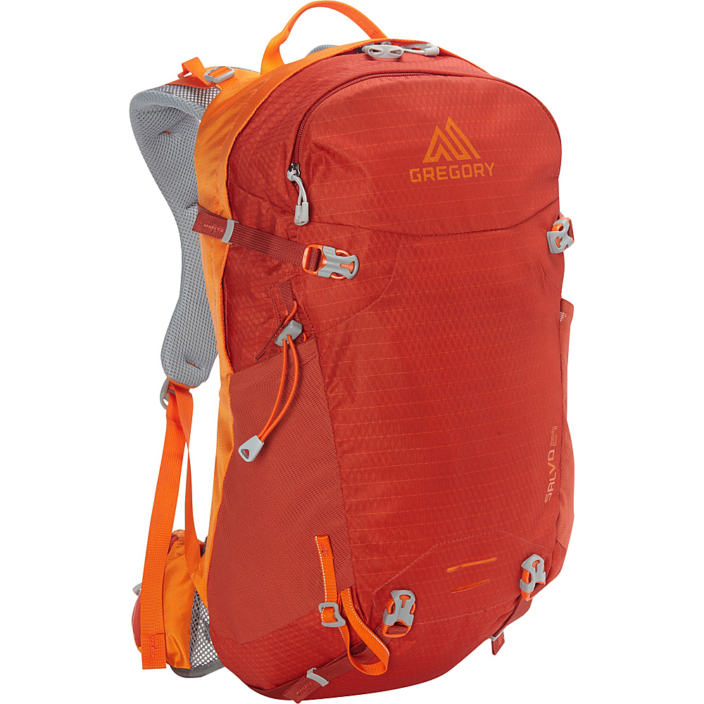 Gregory Salvo 24 Backpack Burnished Orange Gregory Day Hiking Backpacks