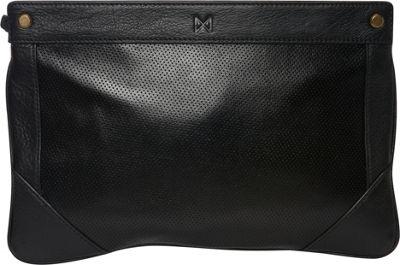 MOFE Lacuna Clutch Black - MOFE Leather Handbags