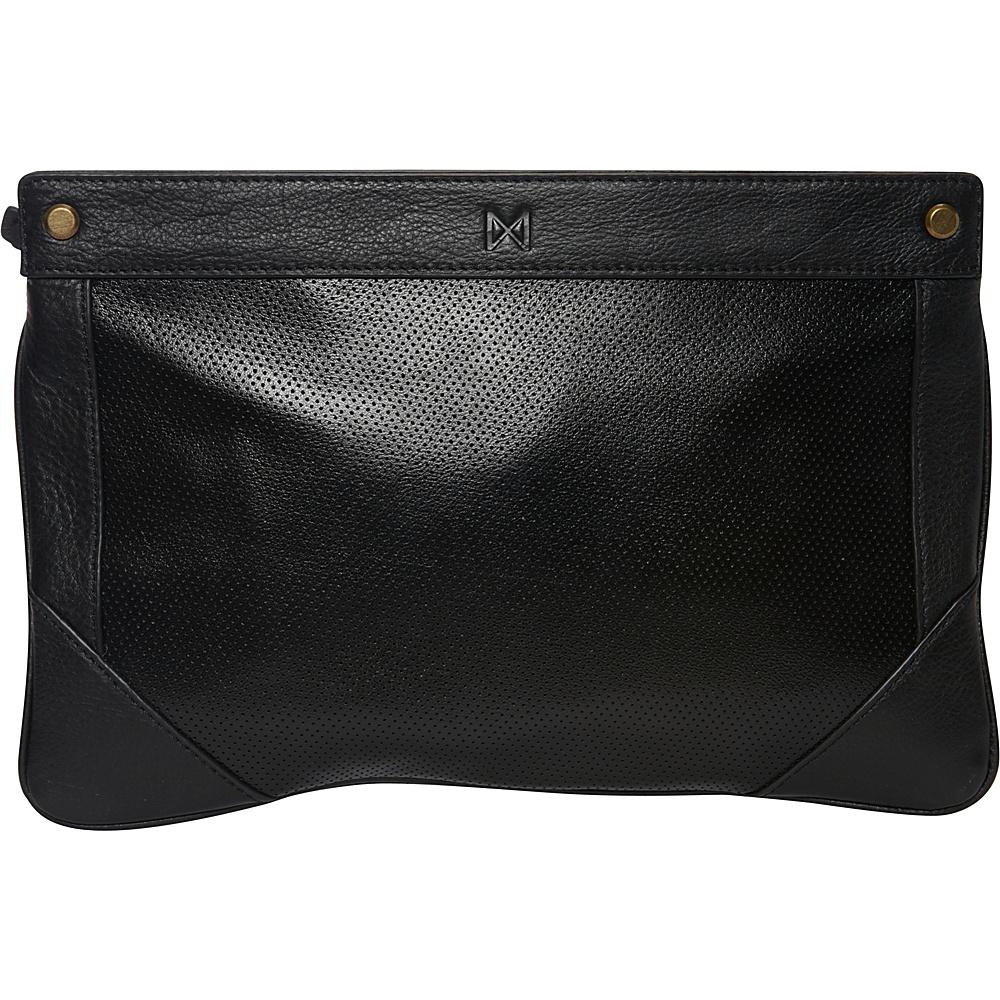 MOFE Lacuna Clutch Black MOFE Leather Handbags