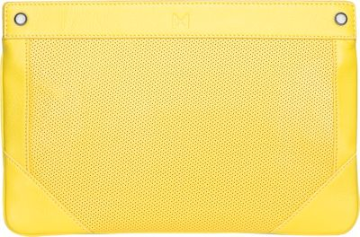 MOFE Lacuna Clutch Yellow