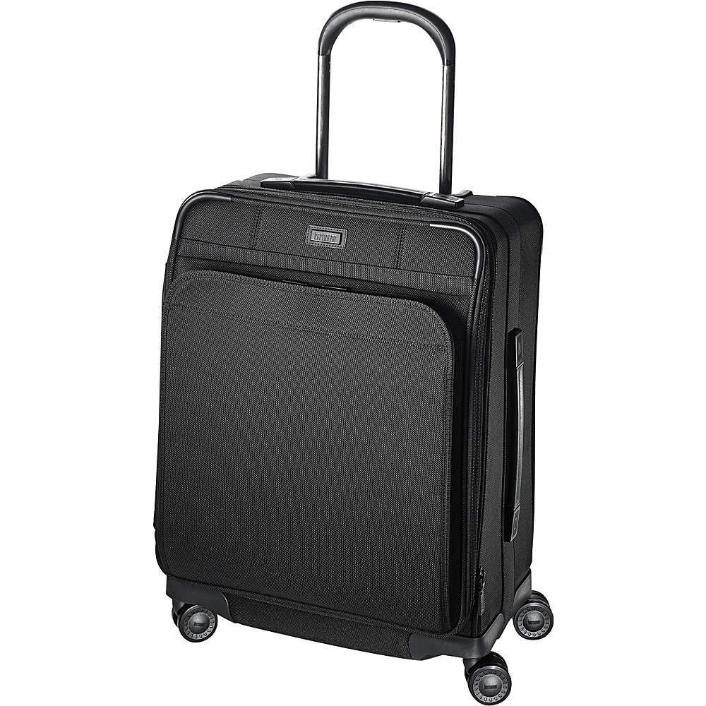 Hartmann Luggage Ratio Global Carry On Expandable Glider True Black Hartmann Luggage Softside Carry On