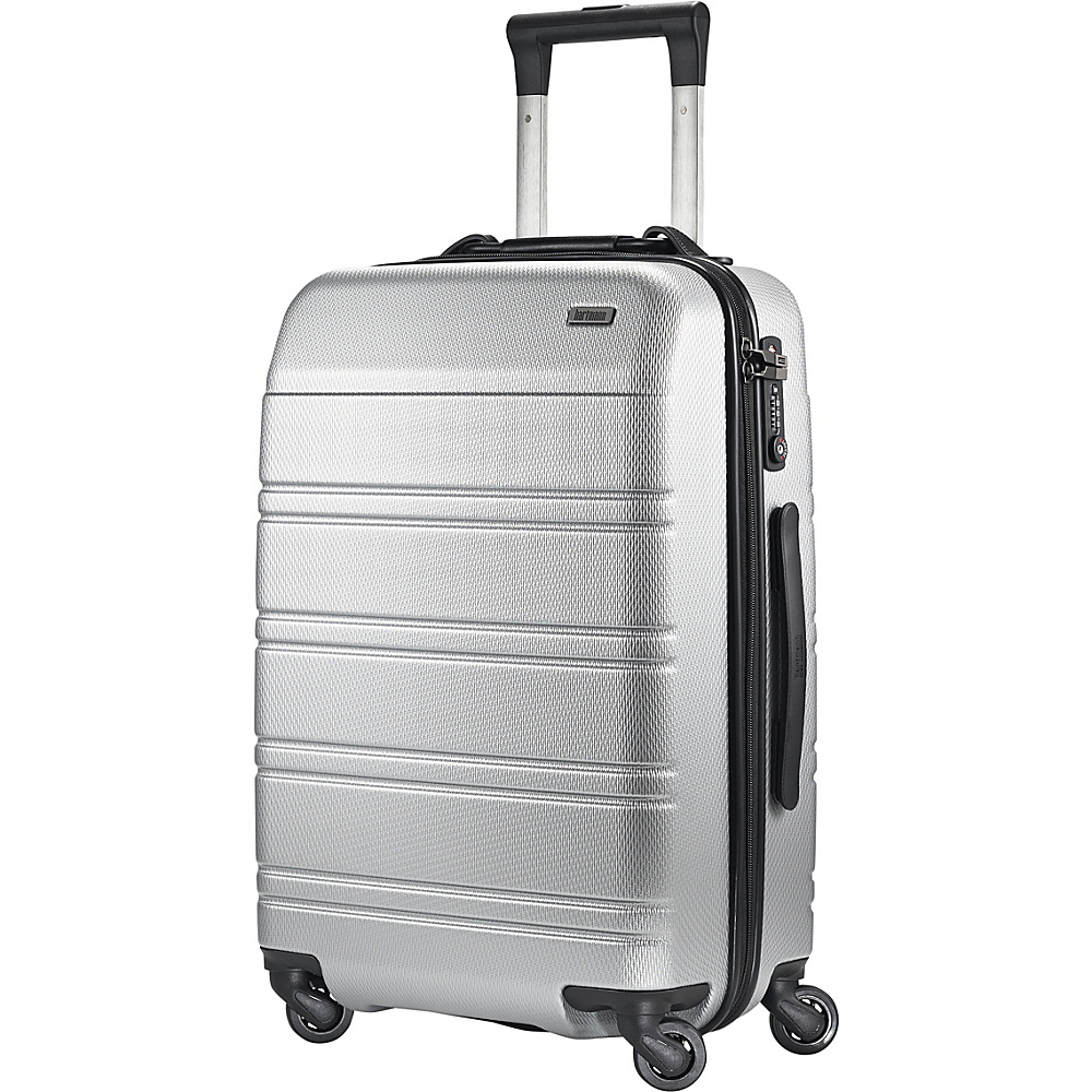 Hartmann Luggage Vigor 2 Spinner Glacial Silver Hartmann Luggage Hardside Carry On