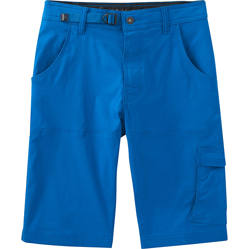 PrAna Stretch Zion Shorts 34 - Vortex Blue - PrAna Mens Apparel - Apparel & Footwear, Men's Apparel