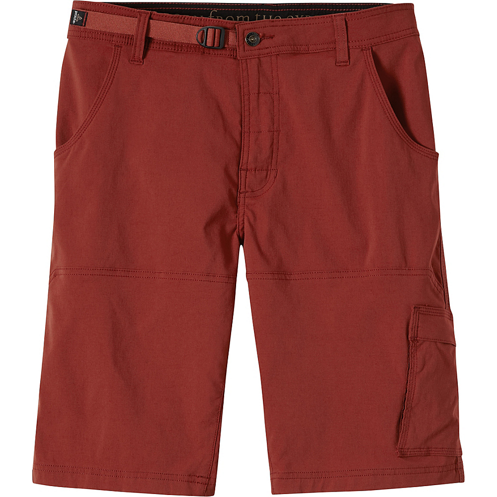 PrAna Stretch Zion Shorts 33 - Brick - PrAna Mens Apparel - Apparel & Footwear, Men's Apparel