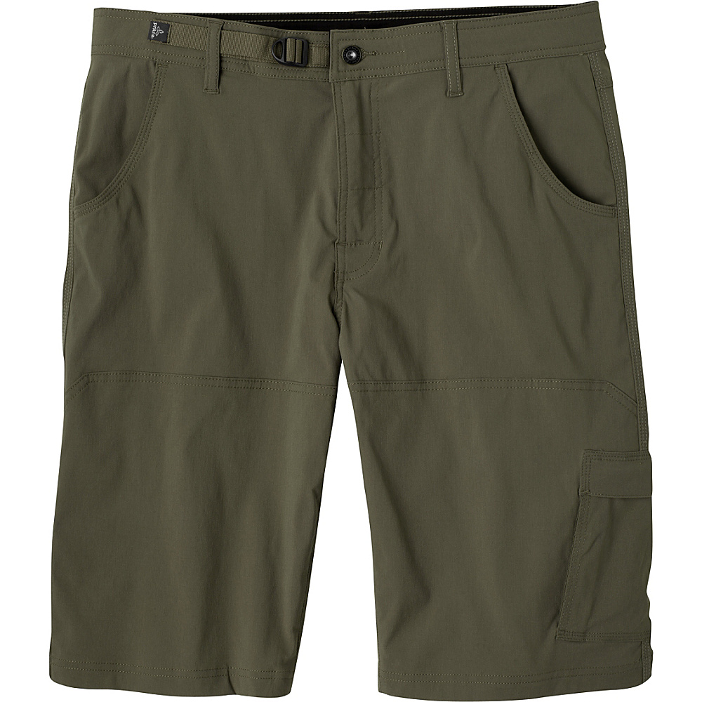 PrAna Stretch Zion Shorts 33 - Cargo Green - PrAna Mens Apparel - Apparel & Footwear, Men's Apparel