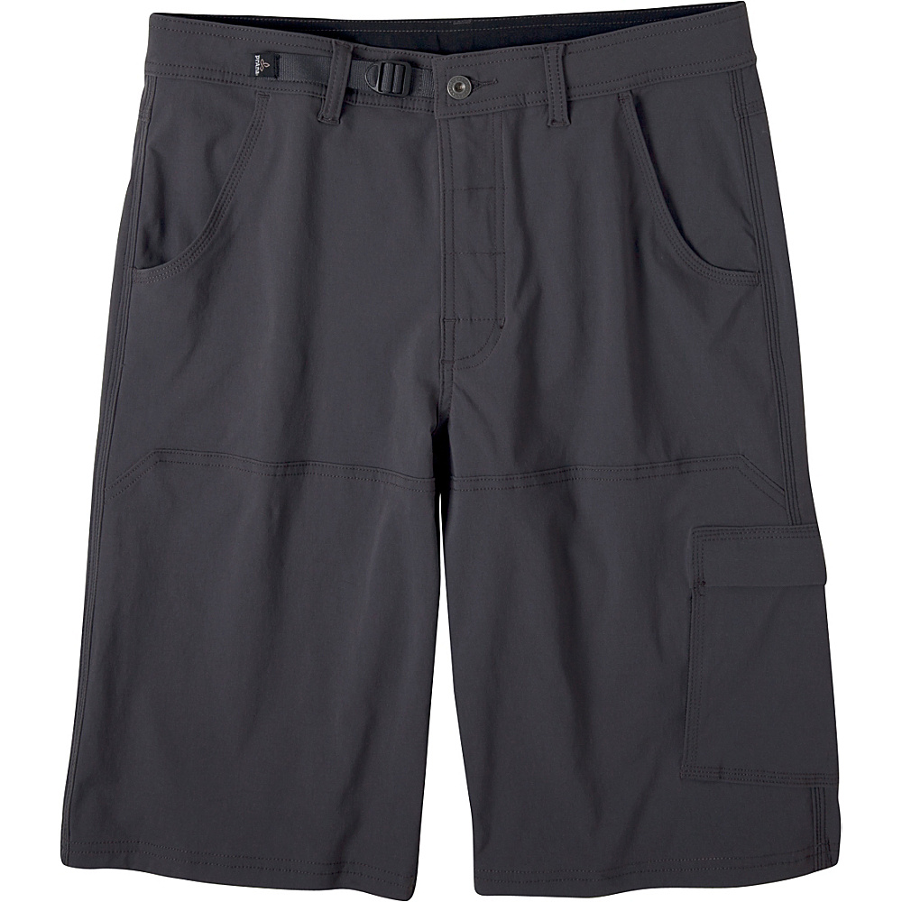 PrAna Stretch Zion Shorts 34 - Charcoal - PrAna Mens Apparel - Apparel & Footwear, Men's Apparel