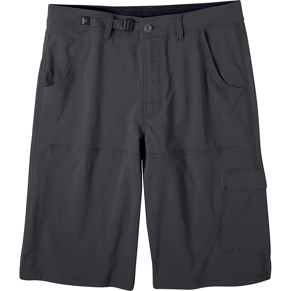 PrAna Stretch Zion Shorts 35 - Charcoal - PrAna Mens Apparel - Apparel & Footwear, Men's Apparel