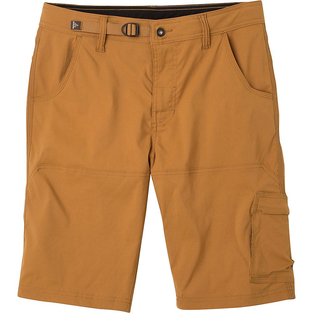 PrAna Stretch Zion Shorts 32 - Dark Ginger - PrAna Mens Apparel - Apparel & Footwear, Men's Apparel