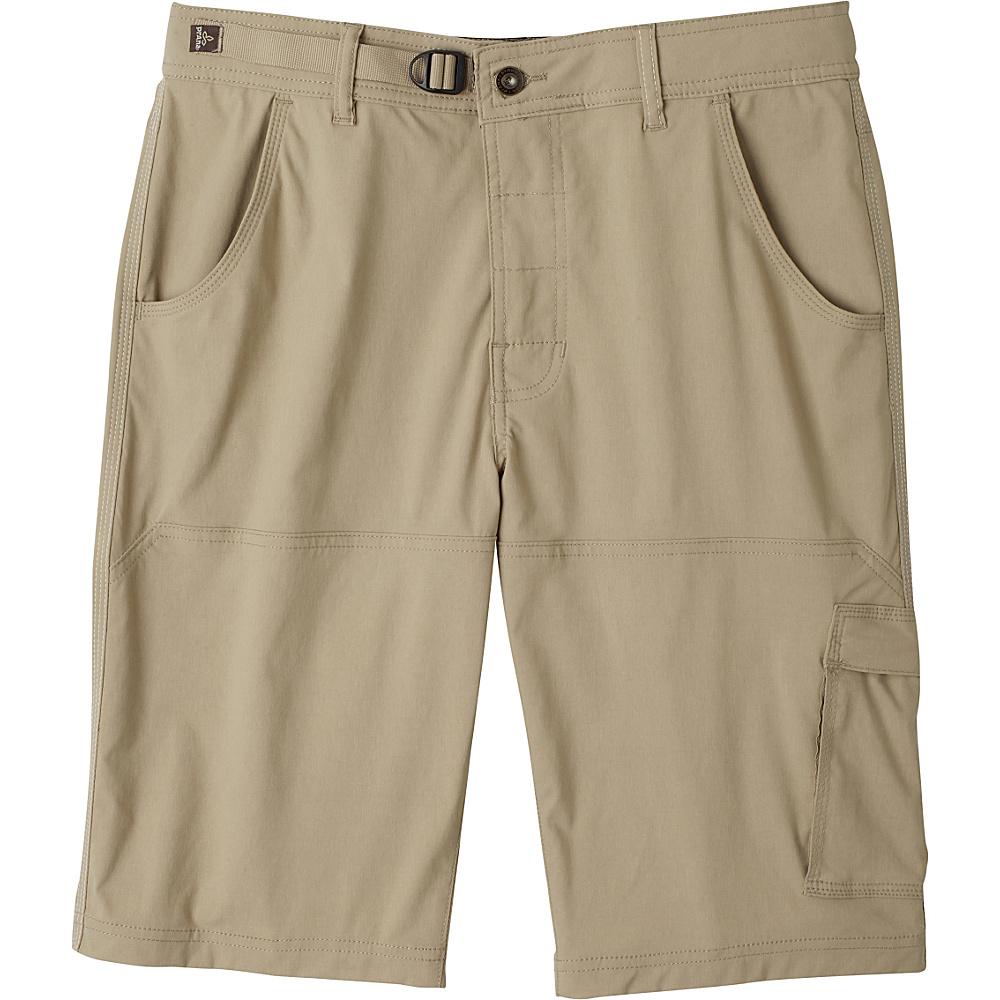 PrAna Stretch Zion Shorts 40 - Dark Khaki - PrAna Mens Apparel - Apparel & Footwear, Men's Apparel