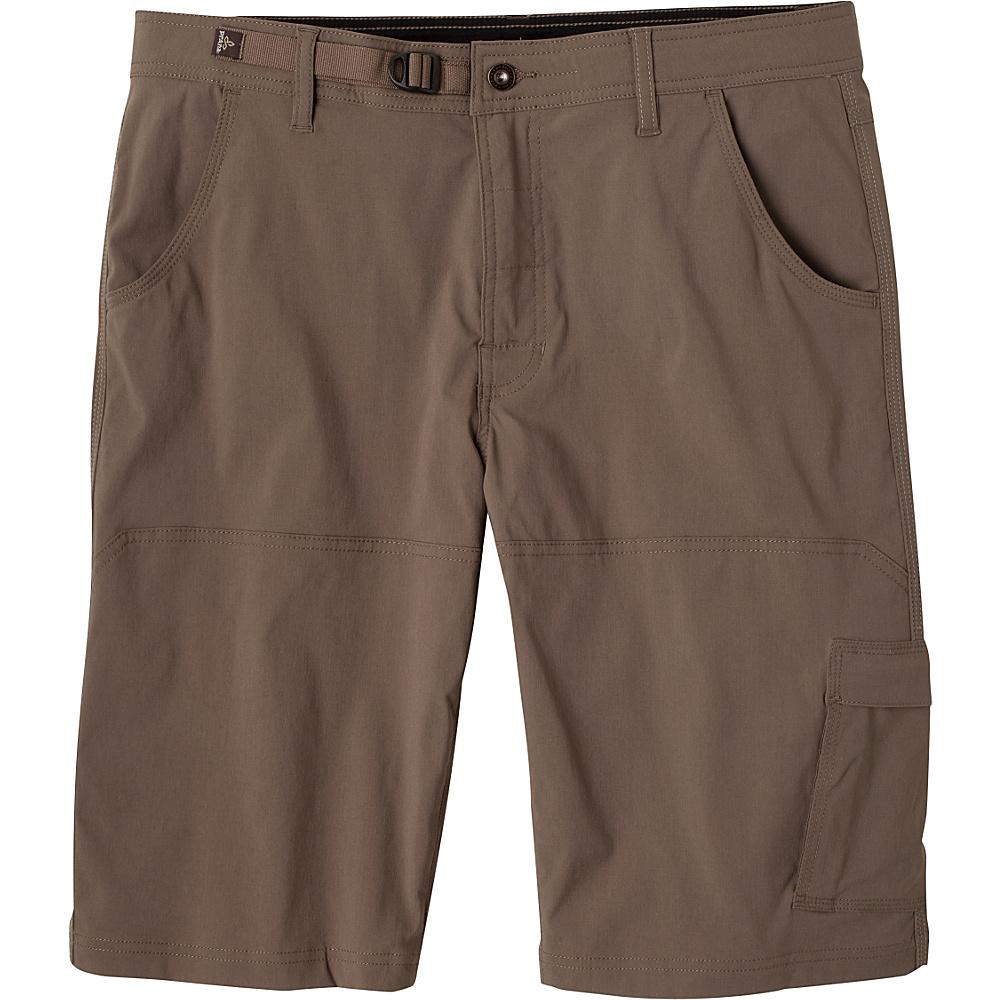 PrAna Stretch Zion Shorts 35 - Mud - PrAna Mens Apparel - Apparel & Footwear, Men's Apparel