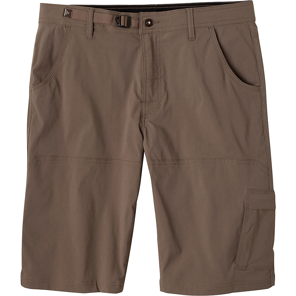 PrAna Stretch Zion Shorts 36 - Mud - PrAna Mens Apparel - Apparel & Footwear, Men's Apparel