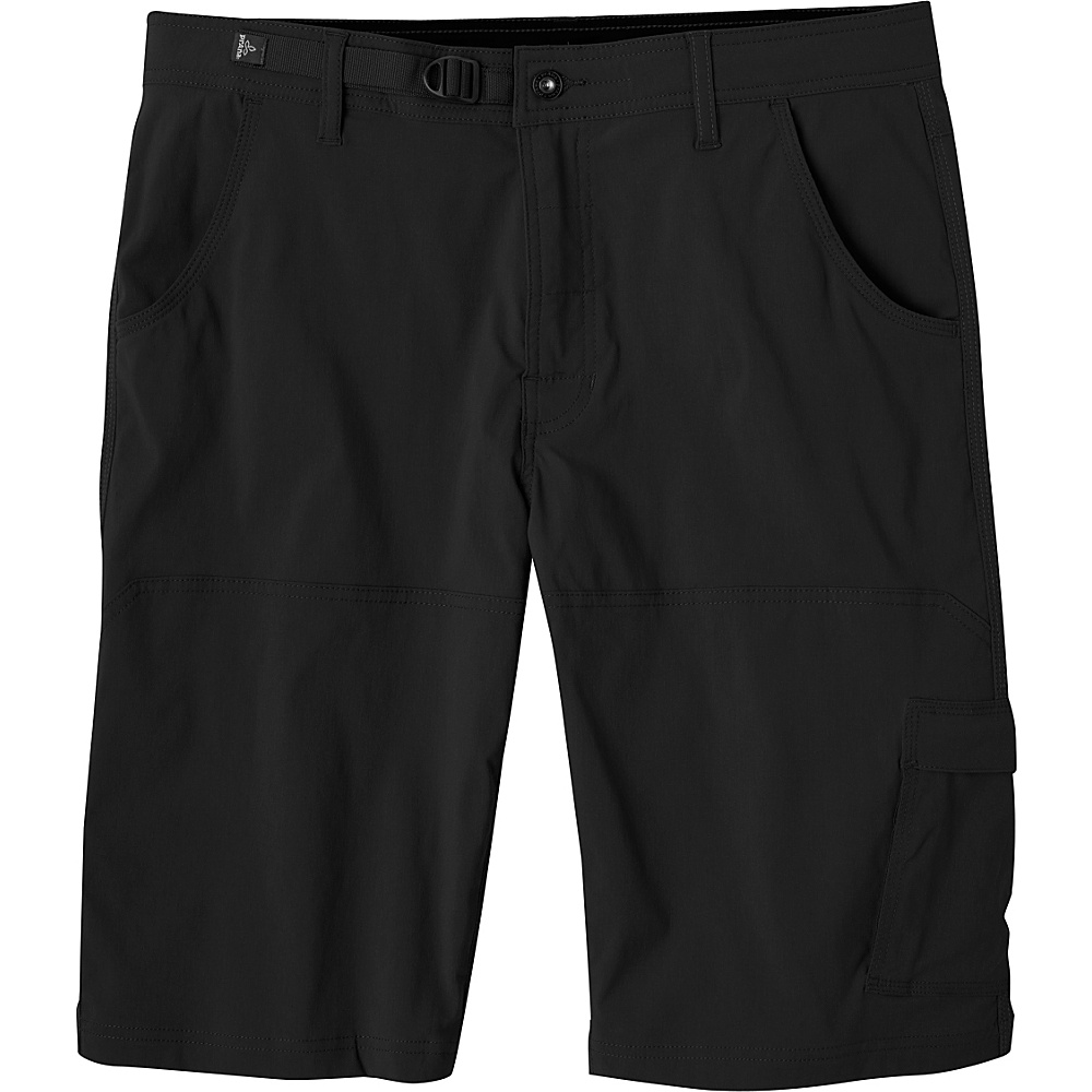 PrAna Stretch Zion Shorts 38 - Black - PrAna Mens Apparel - Apparel & Footwear, Men's Apparel