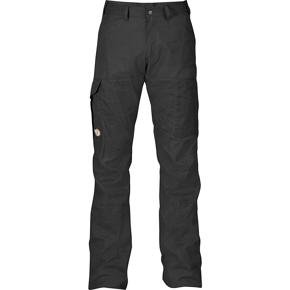 Fjallraven Karl Trousers 48 - Dark Grey - Fjallraven Mens Apparel - Apparel & Footwear, Men's Apparel