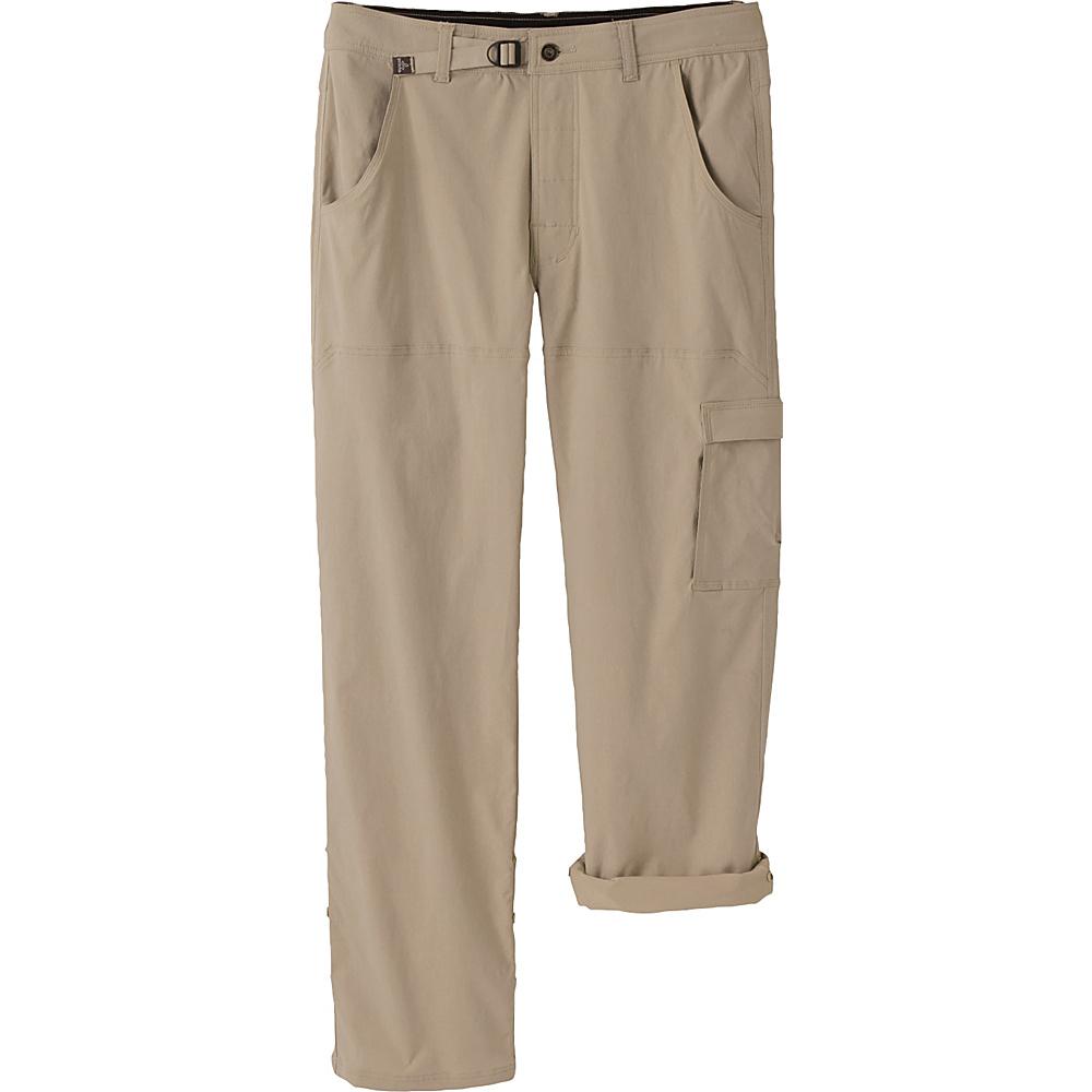 PrAna Stretch Zion Pants - 34 Inseam 31 - Dark Khaki - 31 - PrAna Mens Apparel - Apparel & Footwear, Men's Apparel