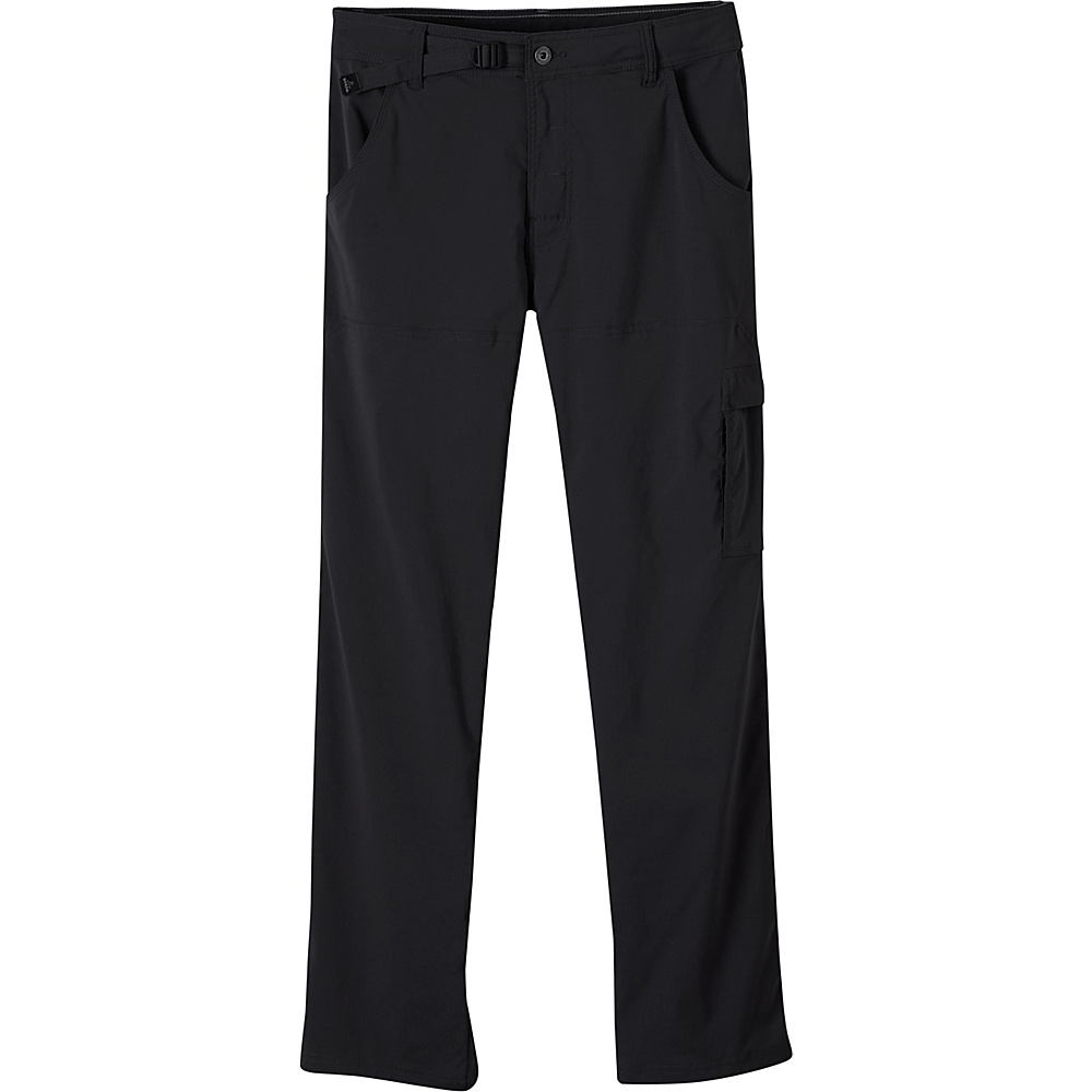 PrAna Stretch Zion Pants - 34 Inseam 30 - Black - PrAna Mens Apparel - Apparel & Footwear, Men's Apparel