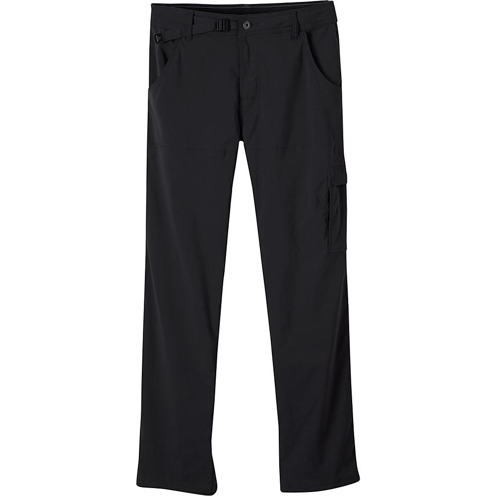 PrAna Stretch Zion Pants - 34 Inseam 33 - Black - PrAna Mens Apparel - Apparel & Footwear, Men's Apparel