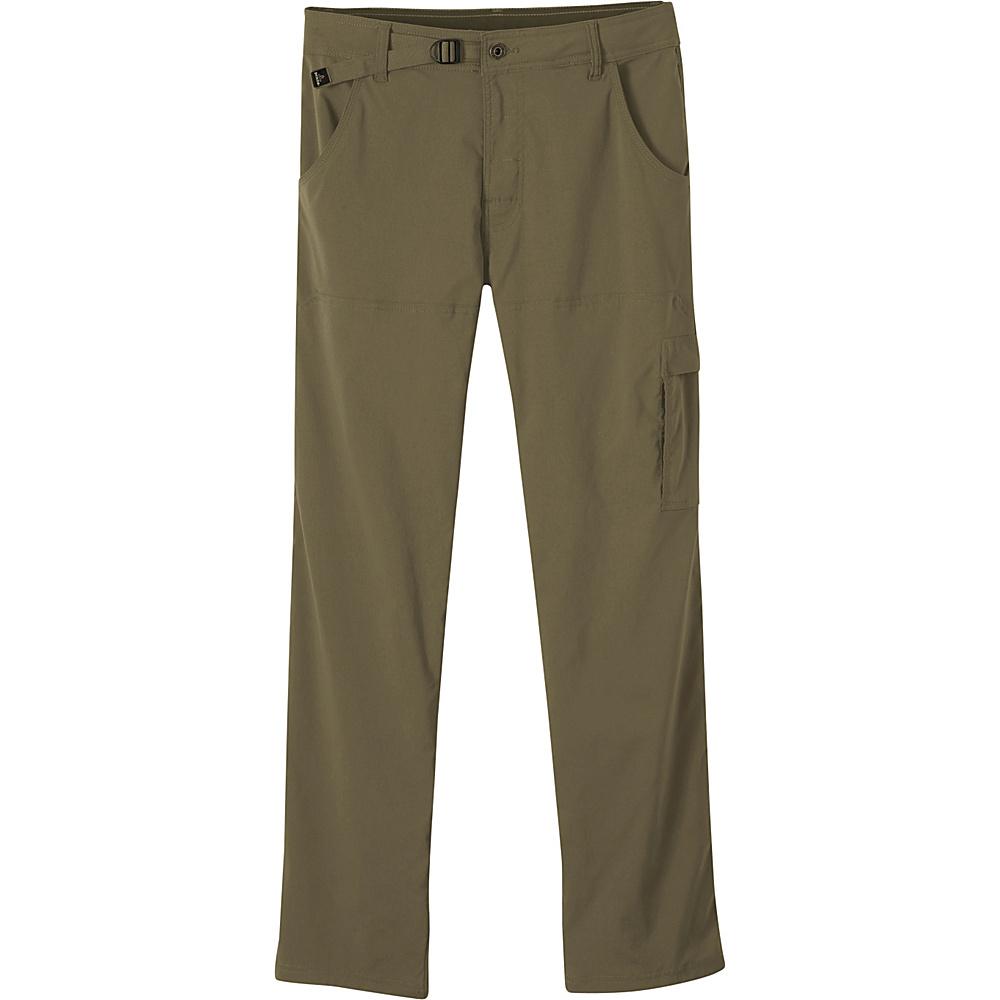 PrAna Stretch Zion Pants - 34 Inseam 30 - Cargo Green - PrAna Mens Apparel - Apparel & Footwear, Men's Apparel