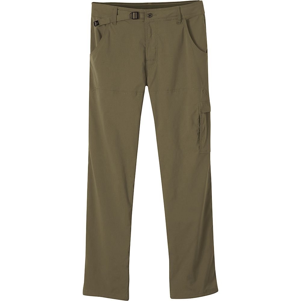 PrAna Stretch Zion Pants - 34 Inseam 32 - Cargo Green - PrAna Mens Apparel - Apparel & Footwear, Men's Apparel