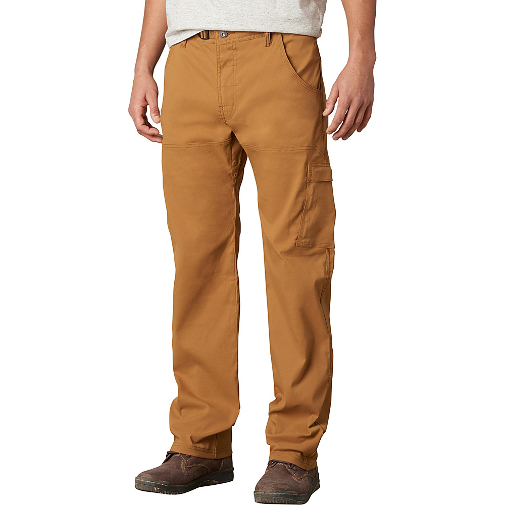 PrAna Stretch Zion Pants - 34 Inseam 33 - Dark Ginger - PrAna Mens Apparel - Apparel & Footwear, Men's Apparel
