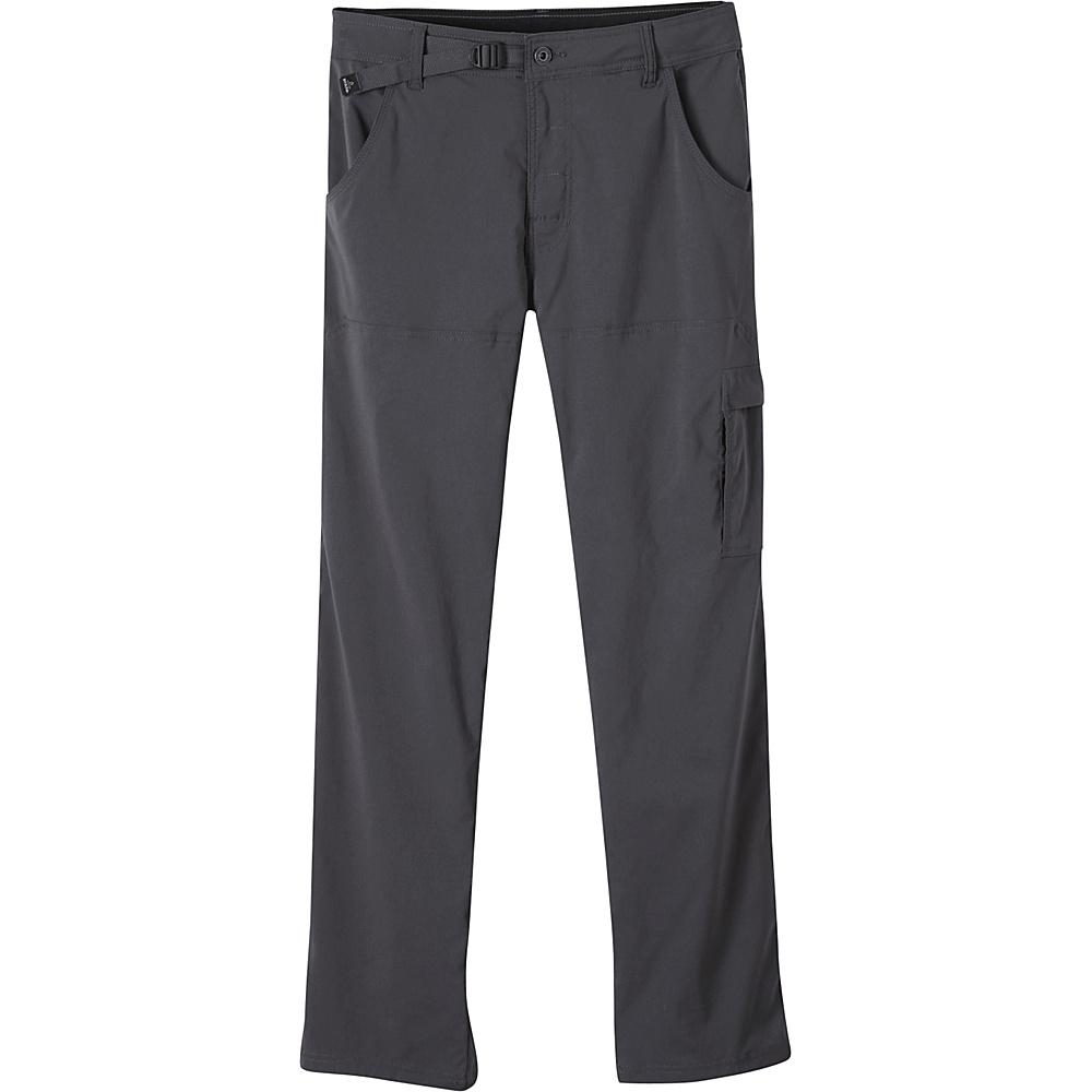 PrAna Stretch Zion Pants - 34 Inseam 30 - Charcoal - PrAna Mens Apparel - Apparel & Footwear, Men's Apparel