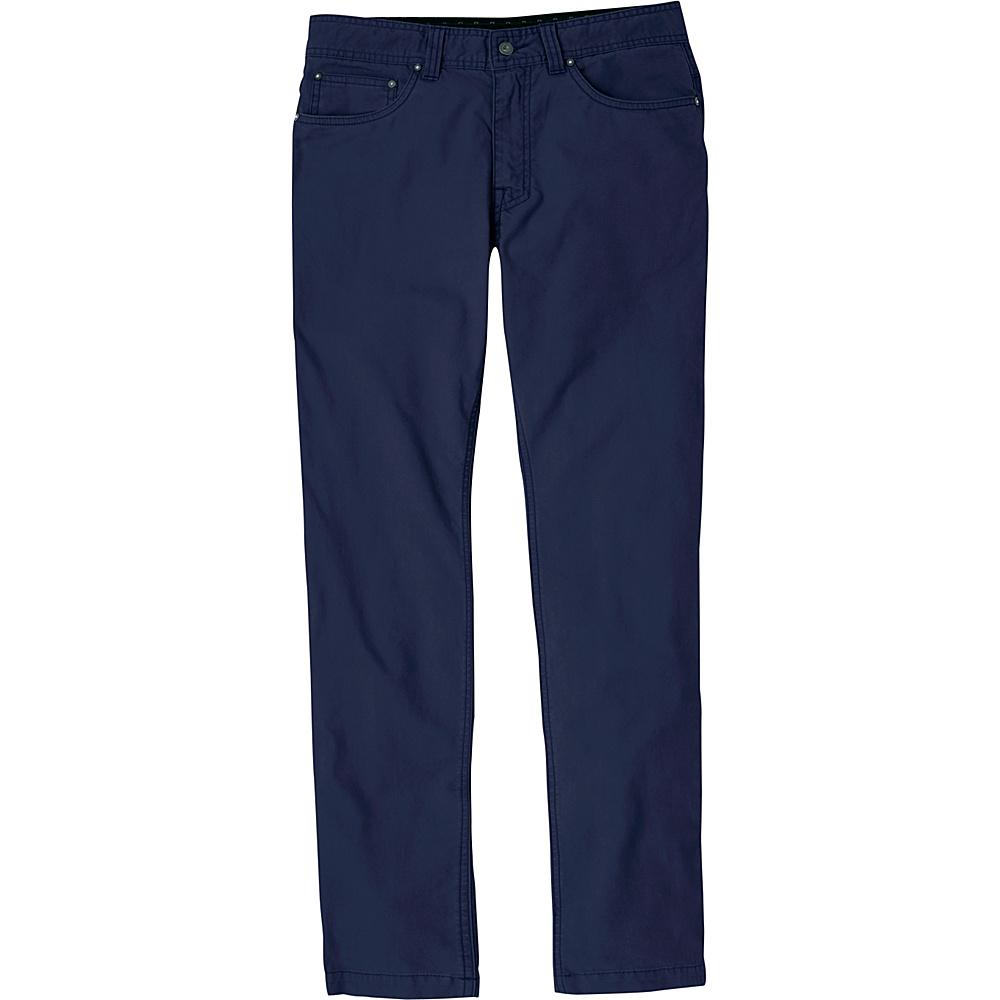 PrAna Tucson Slim Fit Pants - 30 Inseam 34 - Nautical - PrAna Mens Apparel - Apparel & Footwear, Men's Apparel