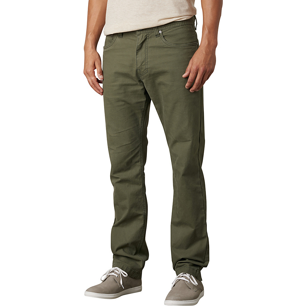 PrAna Tucson Slim Fit Pants - 30 Inseam 35 - Cargo Green - PrAna Mens Apparel - Apparel & Footwear, Men's Apparel