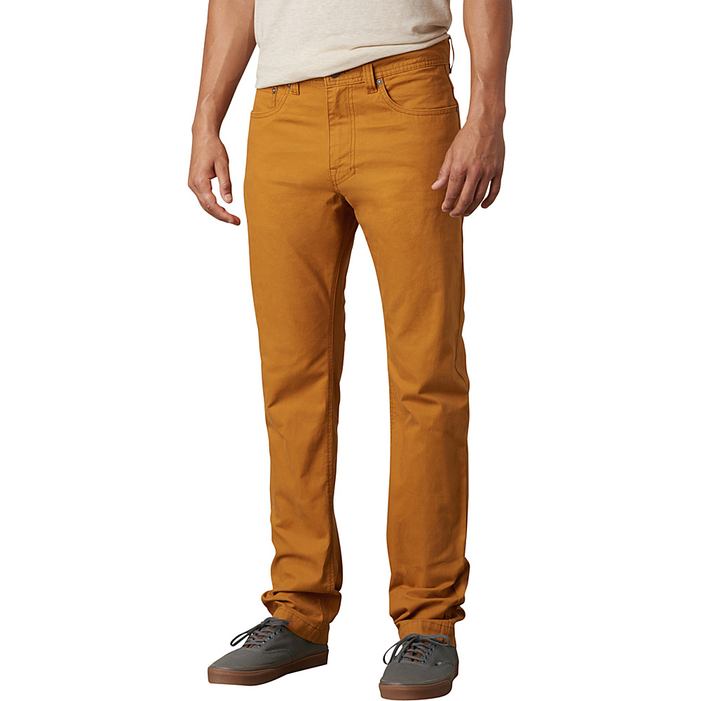 PrAna Tucson Slim Fit Pants - 30 Inseam 32 - Cumin - PrAna Mens Apparel - Apparel & Footwear, Men's Apparel