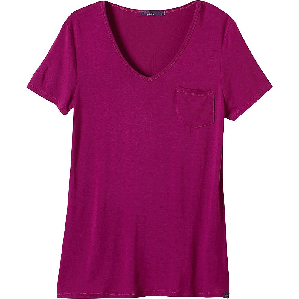 PrAna Hildi Top XL - Rich Fuchsia - PrAna Womens Apparel - Apparel & Footwear, Women's Apparel