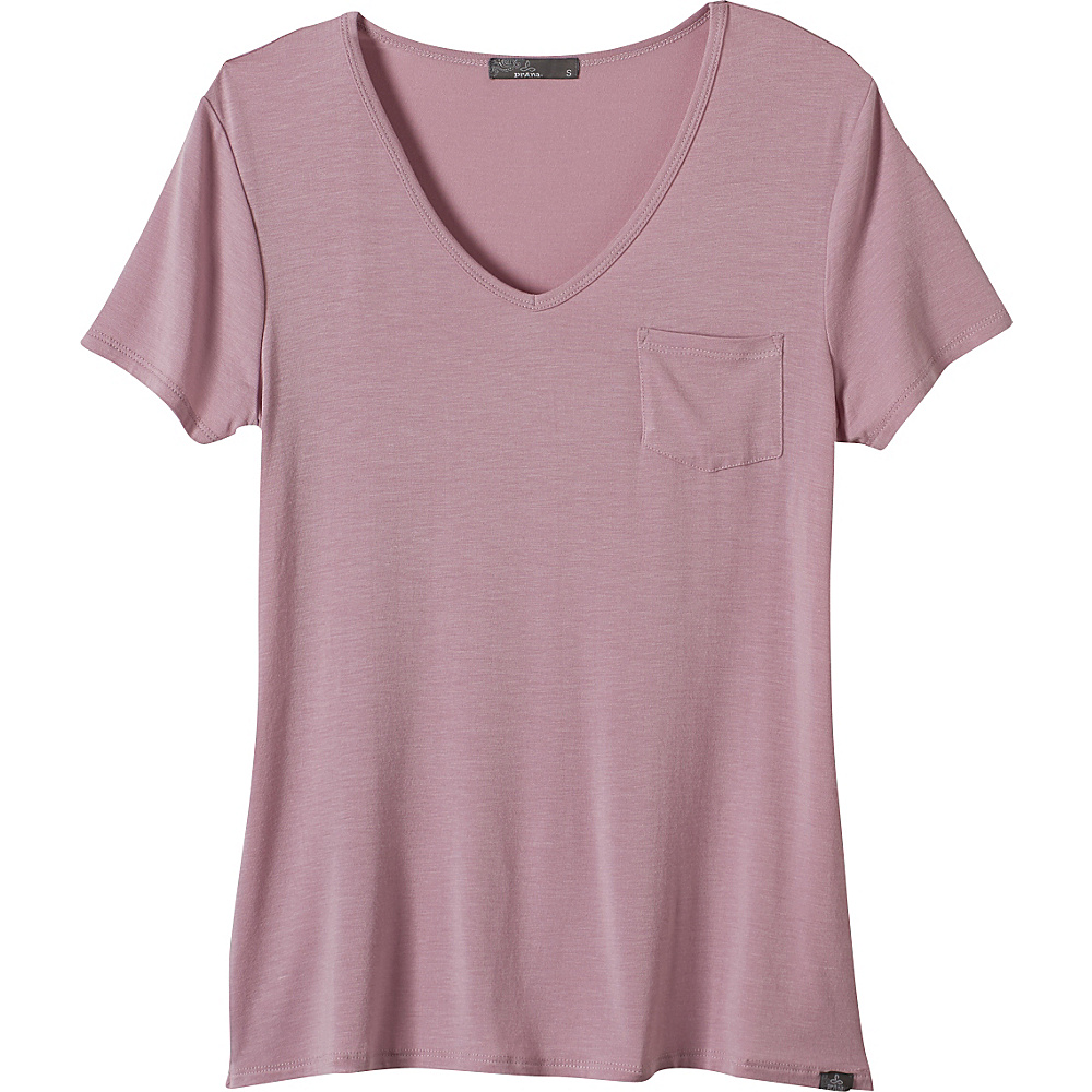 PrAna Hildi Top XL - Dusted Blush - PrAna Womens Apparel - Apparel & Footwear, Women's Apparel