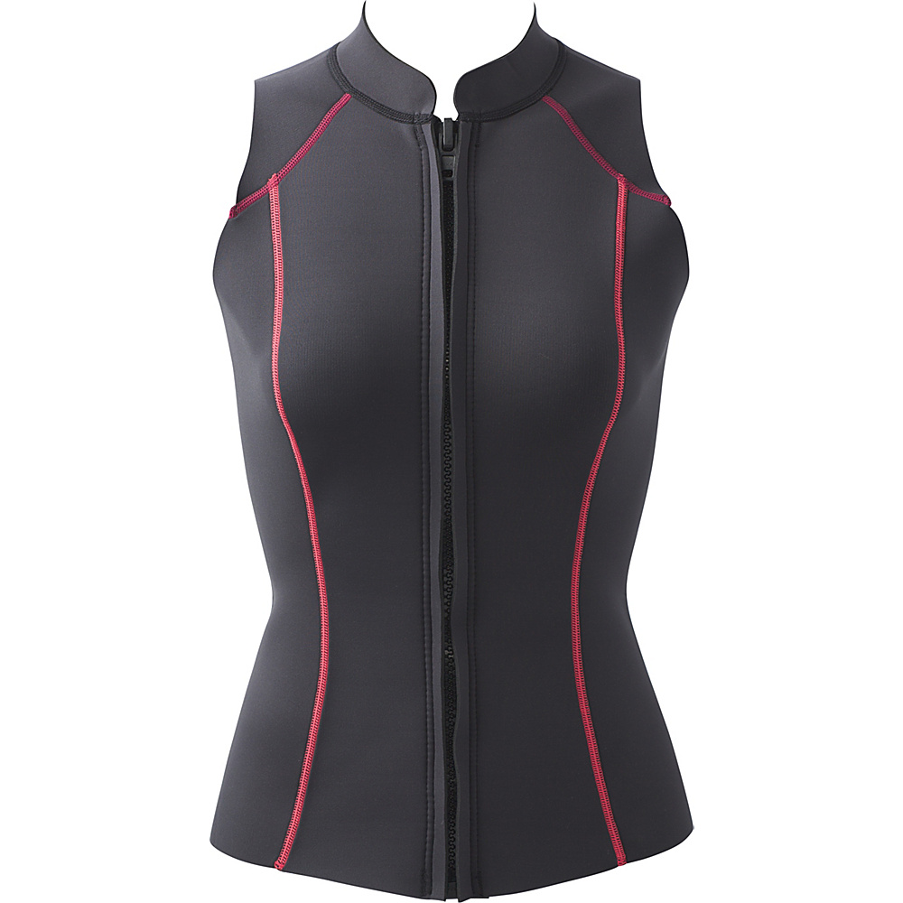 PrAna Kelis Vest L - Black Pop - PrAna Womens Apparel - Apparel & Footwear, Women's Apparel
