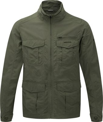 Craghoppers Nosilife Havana Jacket M - Olive Drab - Craghoppers Men's Apparel
