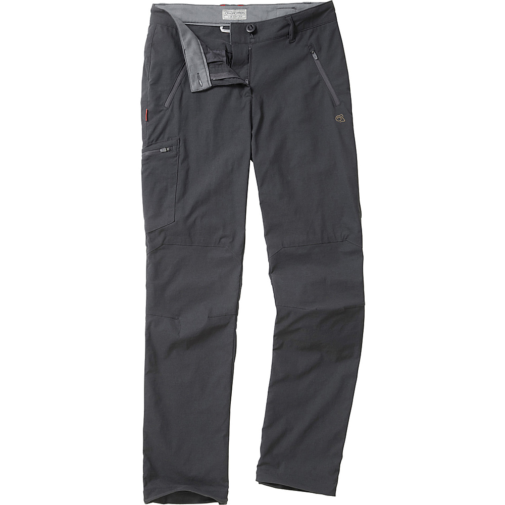 Craghoppers Nosilife Pro Trousers - Regular 4 - Charcoal - Craghoppers Womens Apparel - Apparel & Footwear, Women's Apparel